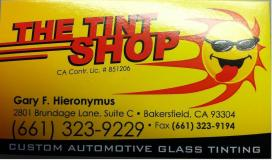 The Tint Shop