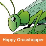 Happy Grasshopper