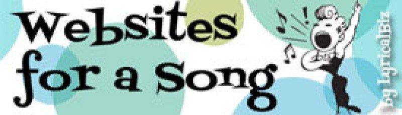 Websites for a Song by LyricalBiz.com / Lisa Drew