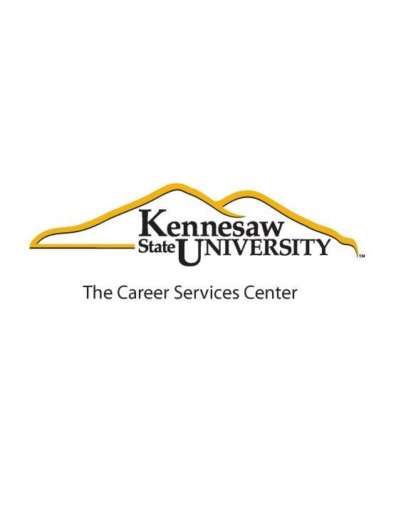 Kennesaw State University Career Services Center