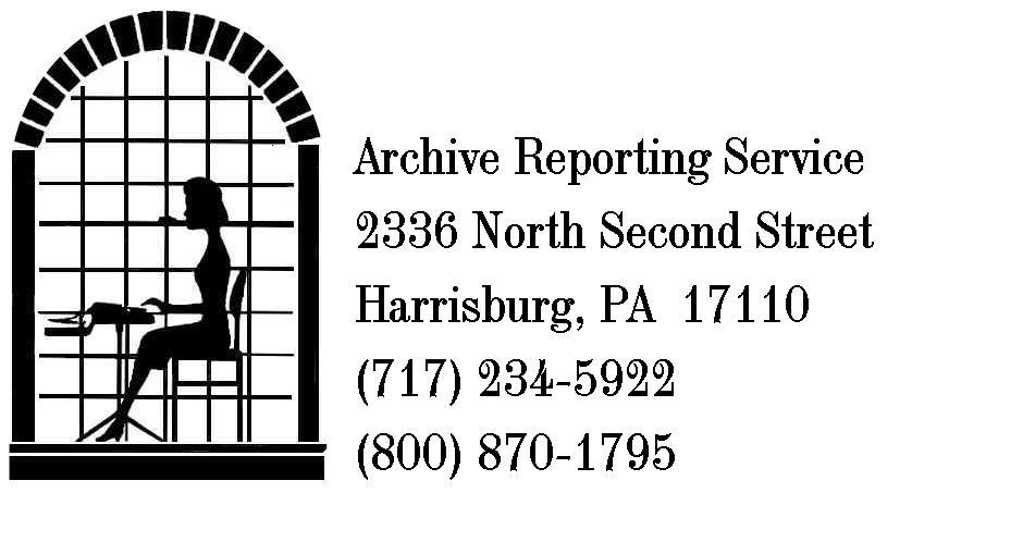 Archive Reporting & Captioning Service Inc.
