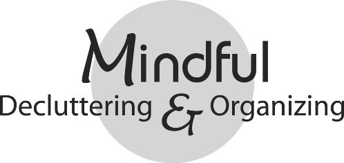 Mindful Decluttering and Organizing