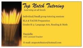 Top Notch Tutoring