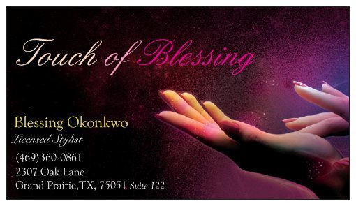 Touch of Blessing