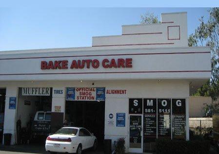 Bake Auto Care