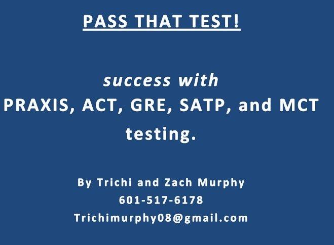 Pine Belt Test Masters